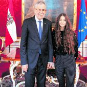 Vorarlberger Besuch beim Präsidenten