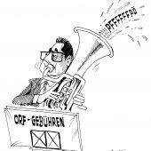 Der Vizekanzler-Marsch!