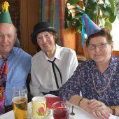 Senioren feiern Fasching im alta Häß