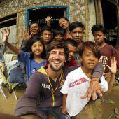 Hilfseinsatz für Straßenkinder