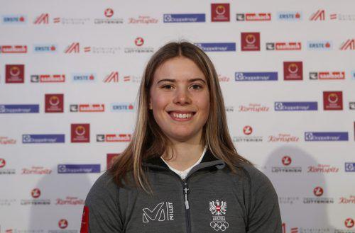 Katharina Liensberger wird am Samstag noch einmal im Einsatz sein. Gepa