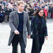 Zwei Royals auf Reisen