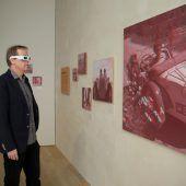 Ausstellung im Vorarlberg Museum mit 3D-Fotografien von Norbert Bertolini. D6