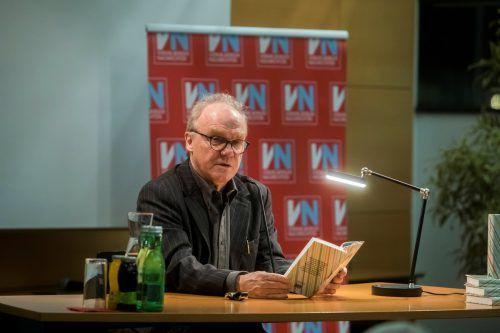 Michael Köhlmeier referiert am Mittwoch über die Grenzen der Literatur. vn/PAulitsch