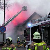 Wohnhausbrand in Höchst