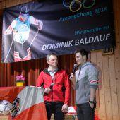 Sulzberger feiern ihren Olympia-Teilnehmer