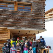 Skitag am Arlberg