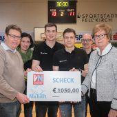 Handball und 1050 Euro für Ma hilft