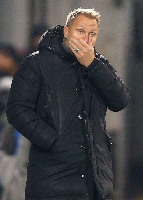 Für Thorsten Fink ist die Trainerzeit bei der Austria zu Ende.apa