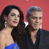 George und Amal Clooney unterstützen Protestmärsche