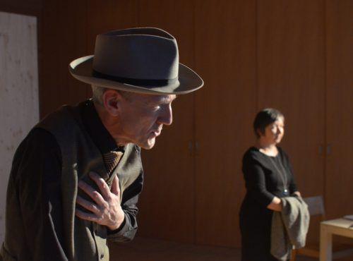 """Gotthard Bilgeri, Leiter des """"Ensemble 89"""", bringt gemeinsam mit Wilma Bilgeri ein Stück über das Älterwerden auf die Bühne. Veranstalter"""