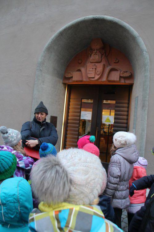 Großes Interesse zeigten die jungen Feldkircher . . .