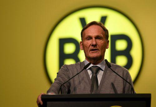 Hans-Joachim Watzke hat beim BVB weiterhin das Sagen.afp