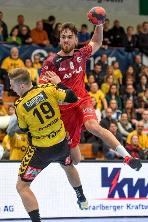 Boris Zivkovic und seine Roten Teufel kämpfen ab heute in Wien im ÖHB-Cup Final Four um den vierten Pokalsieg in der Vereinsgeschichte.gepa