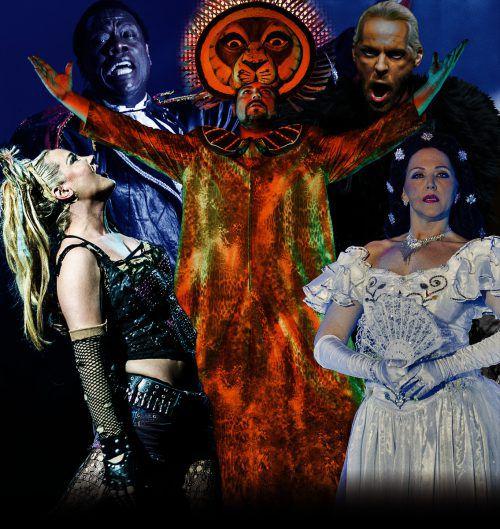Herausragende Darsteller präsentieren die bewegendsten Szenen der Musicalgeschichte Asa Event GmbH