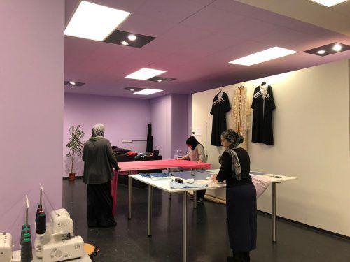 In den neuen Räumlichkeiten in der Kaiser-Josef-Straße 3 hat der Verein Vindex auch eine Nähwerkstatt untergebracht. vindex
