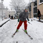Montmartre wird zum Skiparadies