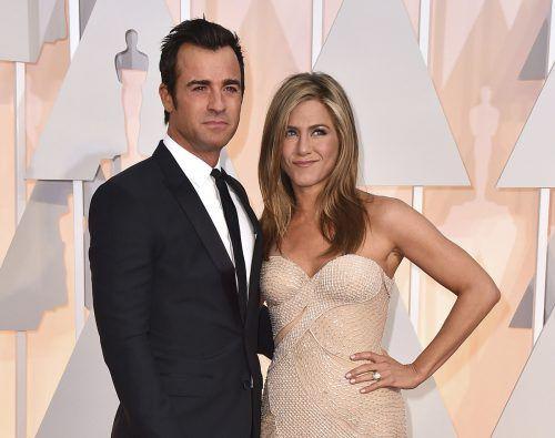 Jennifer Aniston und Justin Theroux gehen getrennte Wege. AP