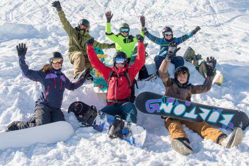 Das Ski- und Snowboardcamp findet in den Semesterferien statt.OJAL
