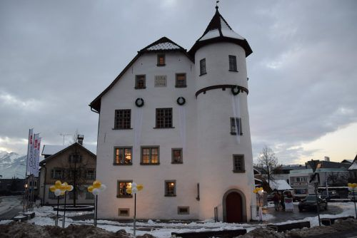 Junker-Jonas-Schlössle ist ebenso Teil der Quartiersentwicklung in Götzis. VER
