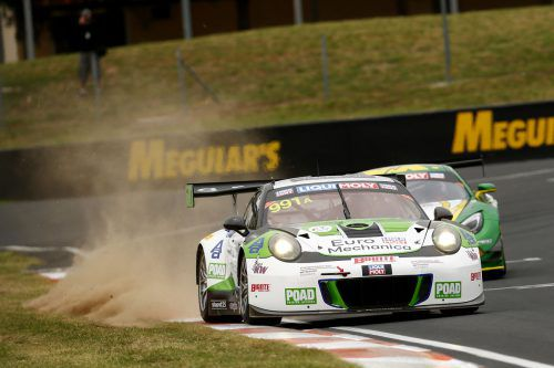 Kévin Estre ist in Down Under beim 12-h-Rennen von Bathurst im Einsatz.Porsche