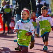 Kindermarathon bewegt die Kleinen