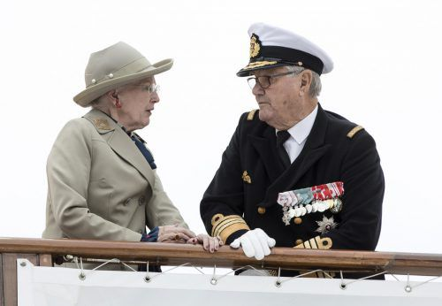 Königin Margrethe und Prinz Henrik feierten im Vorjahr ihren 50. Hochzeitstag. AP