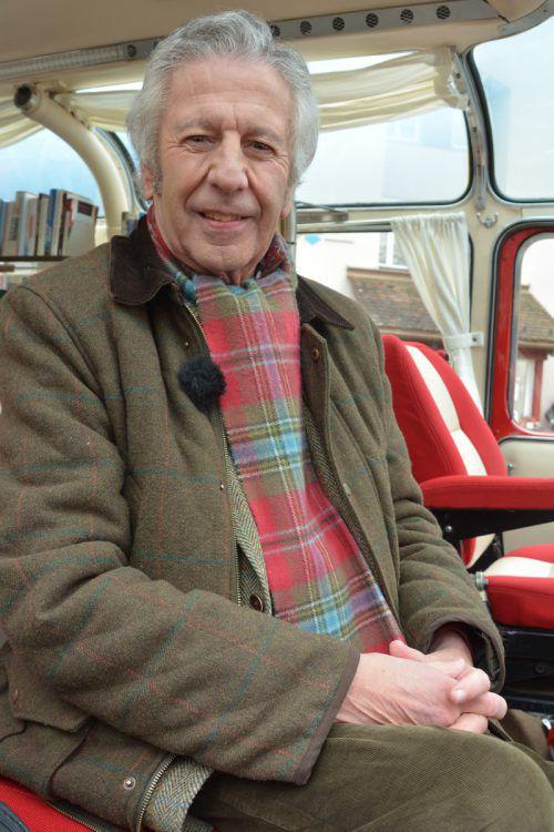 Komarek machte mit seiner LiteraTour Halt in Feldkirch. Marion Hofer