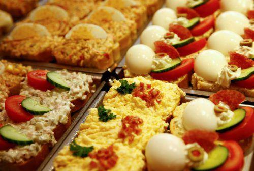 Laut einer Studie werden in Großbritannien jährlich 11,5 Mrd. Sandwiches verzehrt.Rts