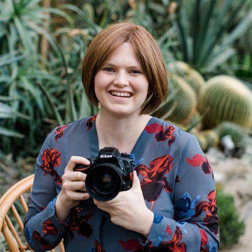 Legt auch in der Freizeit die Kamera nicht aus der Hand: Nina Bröll. Malcom Kessler