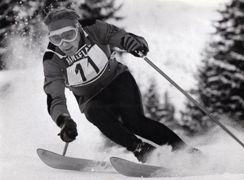 Luggi Leitner fuhr bei Olympischen Winterspielen immer am Podest vorbei, 1960 wurde der Kleinwalsertaler Vierter im Slalom.os