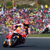 Weltmeister Marquez verlängerte bei Honda