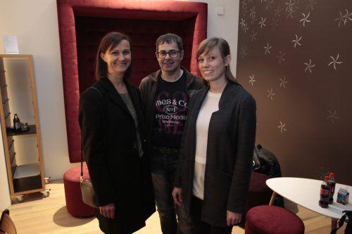 Margot Stummvoll-Winder (l.) sowie Josef Ebner und Teresa Rädler.