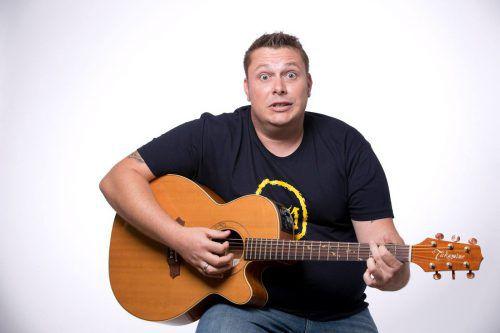 Martin Weinzerl präsentiert im April sein neues Soloprogramm. Eugster