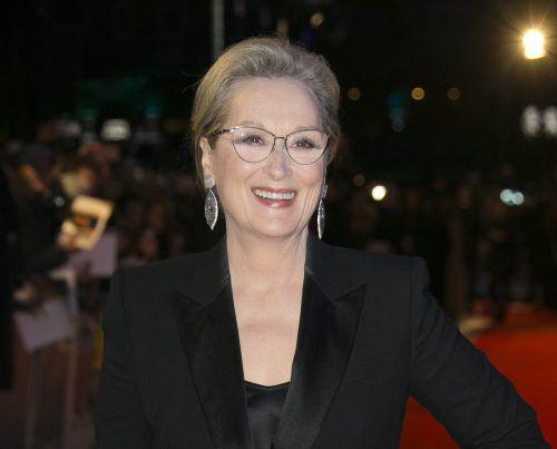 Meryl Streep ist bereits zum 21. Mal für den Oscar nominiert. AP