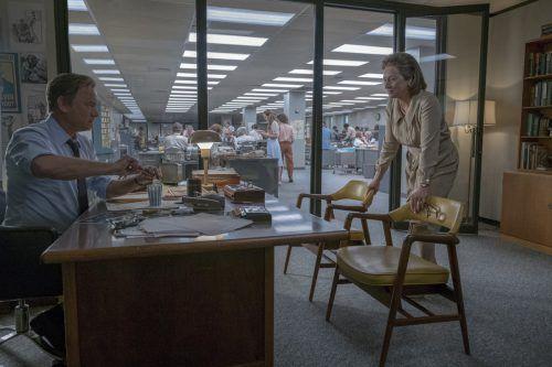 """Meryl Streep ist für das Journalismusdrama """"Die Verlegerin"""" zum 21. Mal für einen Oscar nominiert. universal"""