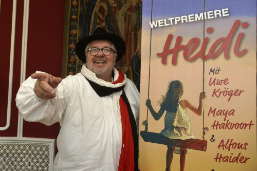 "Michael Schanze feiert mit ""Heidi"" am 10. Oktober in Wien Uraufführung. APA"