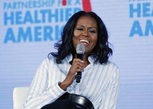 """Michelle Obama geht unter die Autoren: """"Becoming"""" erscheint im November. AP"""