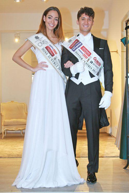 Miss und Mister Austria eröffnen am Donnerstag den Opernball. APA