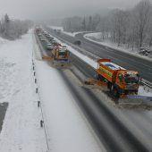 Fast 3000 Tonnen Salz auf Vorarlbergs Straßen