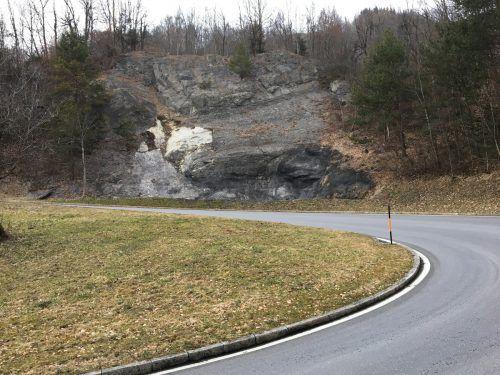 Nach einem Felssturz soll der Hang nun dauerhaft gesichert werden. Kam
