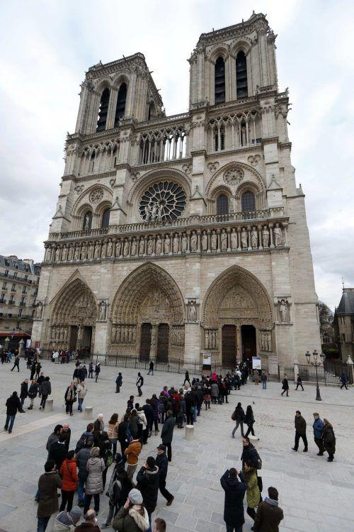 Notre-Dame de Paris ist mehr als 850 Jahre alt. RTS