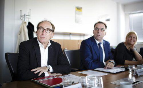 """Parteichef Rauch lässt fragen: """"Sind Grüne nicht mehr notwendig?"""". VN"""