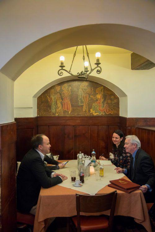 Post-Generaldirektor im VN-Interview im Goldenen Hirschen in Bregenz. VN/paulitsch