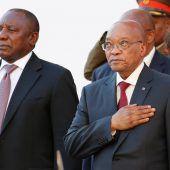 Entscheidung über Schicksal von Präsident Zuma