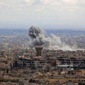 Brüchige Waffenruhe im Rebellengebiet
