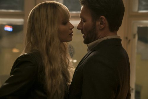 """Red Sparrow"" mit Jennifer Lawrence läuft ab 2. März. 20th century Fox"