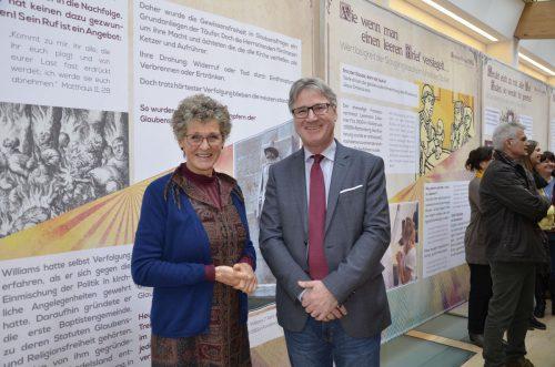 Religionswissenschaftlerin Hella Hagspiel-Keller und Präsident FKÖ Edwin Jung.