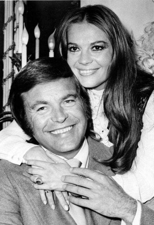 Robert Wagner mit seiner damaligen Ehefrau Natalie Wood. AP