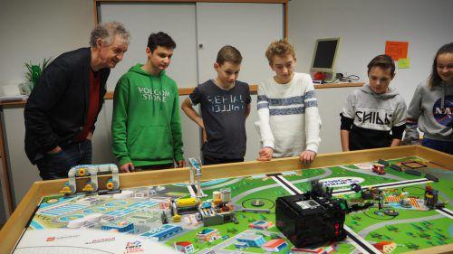Robotik-Team der NMS Altach erreicht tollen fünften Platz im Bundesfinale. CEG